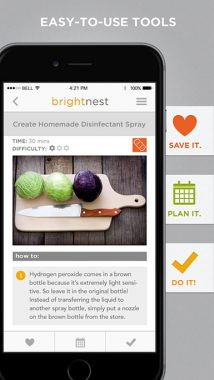 bright nest, déco techno, application déco