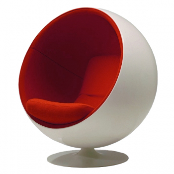 Ball Chair par Eero Aarnio, design, deco, salon, chaise, tendance