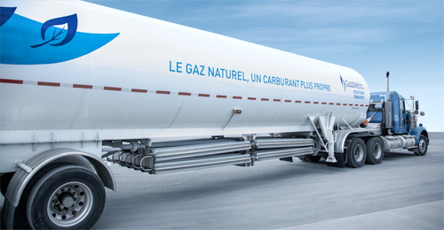 Gaz Métro Solutions Transport - LNG transportation